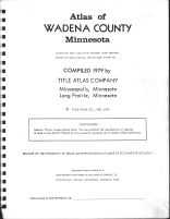 Title Page, Wadena County 1979